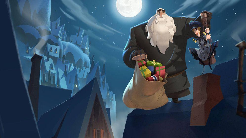 Foto: Un fotograma de 'Klaus', el film de animación de Sergio Pablos. (Netflix)