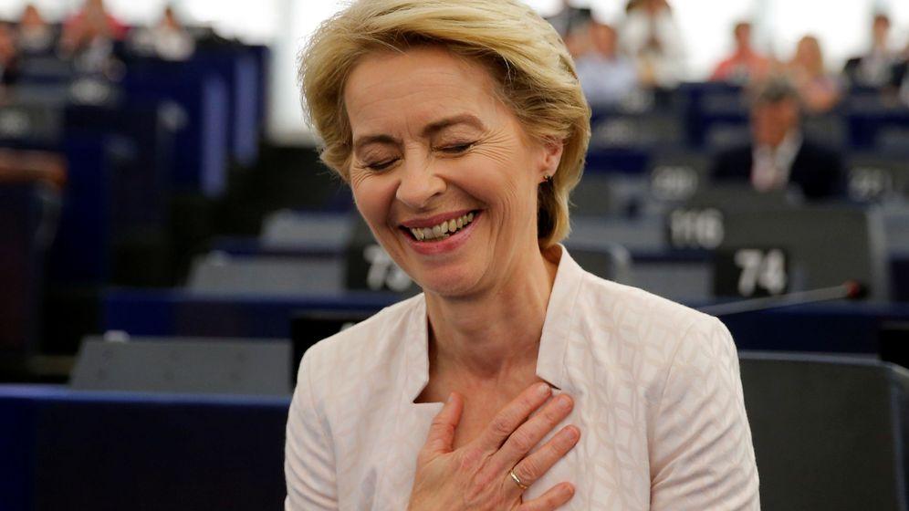 Foto: La nueva presidenta de la Comisión Europea. (Reuters)
