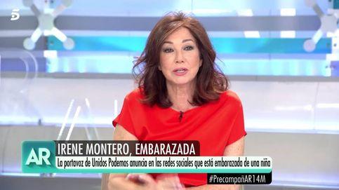 La reacción de Ana Rosa después de que Monedero le diga que vota a la derecha