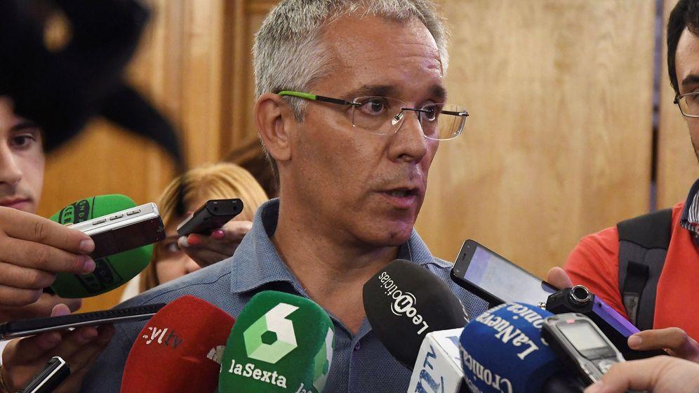 Foto: El concejal del Ayuntamiento de León, José María López Benito, investigado en el caso Enredadera. (EFE)