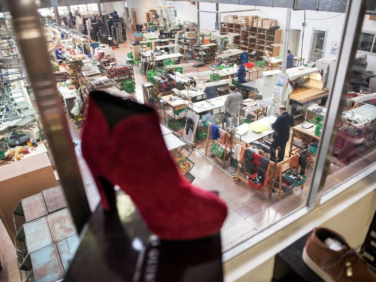 Foto: Fábrica de calzado en Menorca