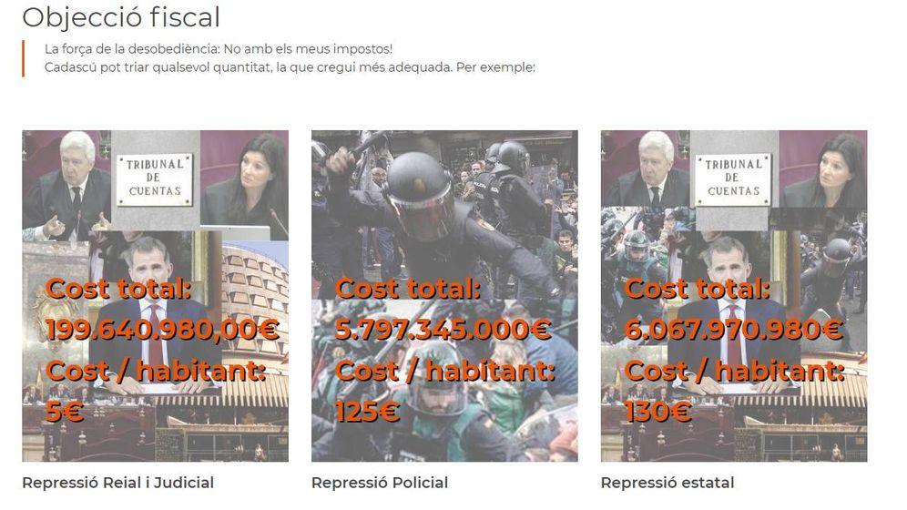 Foto: Captura de la web ni1euro.org.