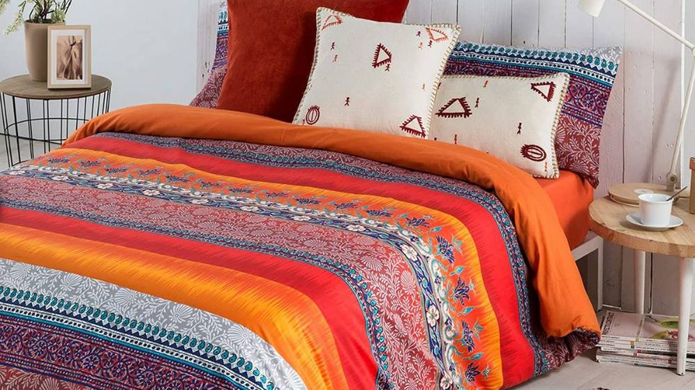 Foto: Fundas nórdicas originales para proteger los rellenos y decorar tu cama