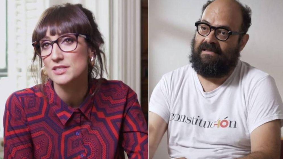 Foto: Ana Morgade e Ignatius Farray participan en el documental de Movistar , '#AbroHilo'.