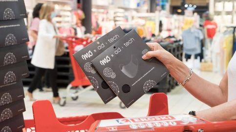 Los supermercados Eroski y Caprabo venden mascarillas MOxAd-Tech contra el covid-19