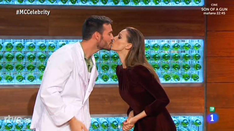 El concursante y la presentadora repiten uno de los momentazos de la segunda edición.