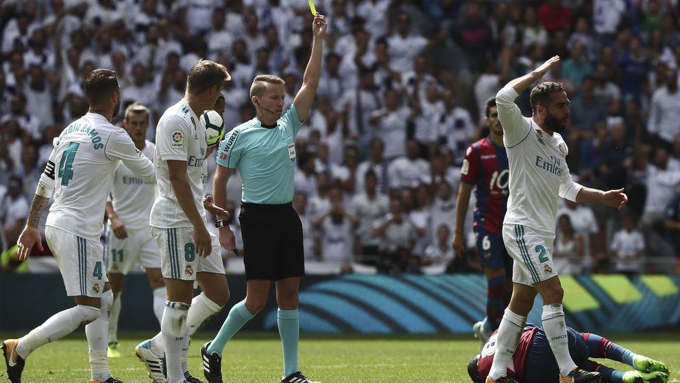 Hernández Hernández será el árbitro del Real Madrid - FC Barcelona de La Liga