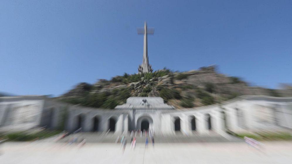 Foto: Vista general del Valle de los Caídos, este 24 de agosto, cuando el Gobierno aprobó el decreto de exhumación de Franco. (EFE)