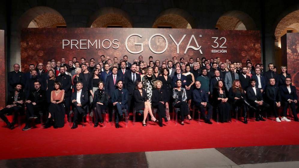 Foto: Fiesta de los nominados a los Premios Goya 2018. (EFE)