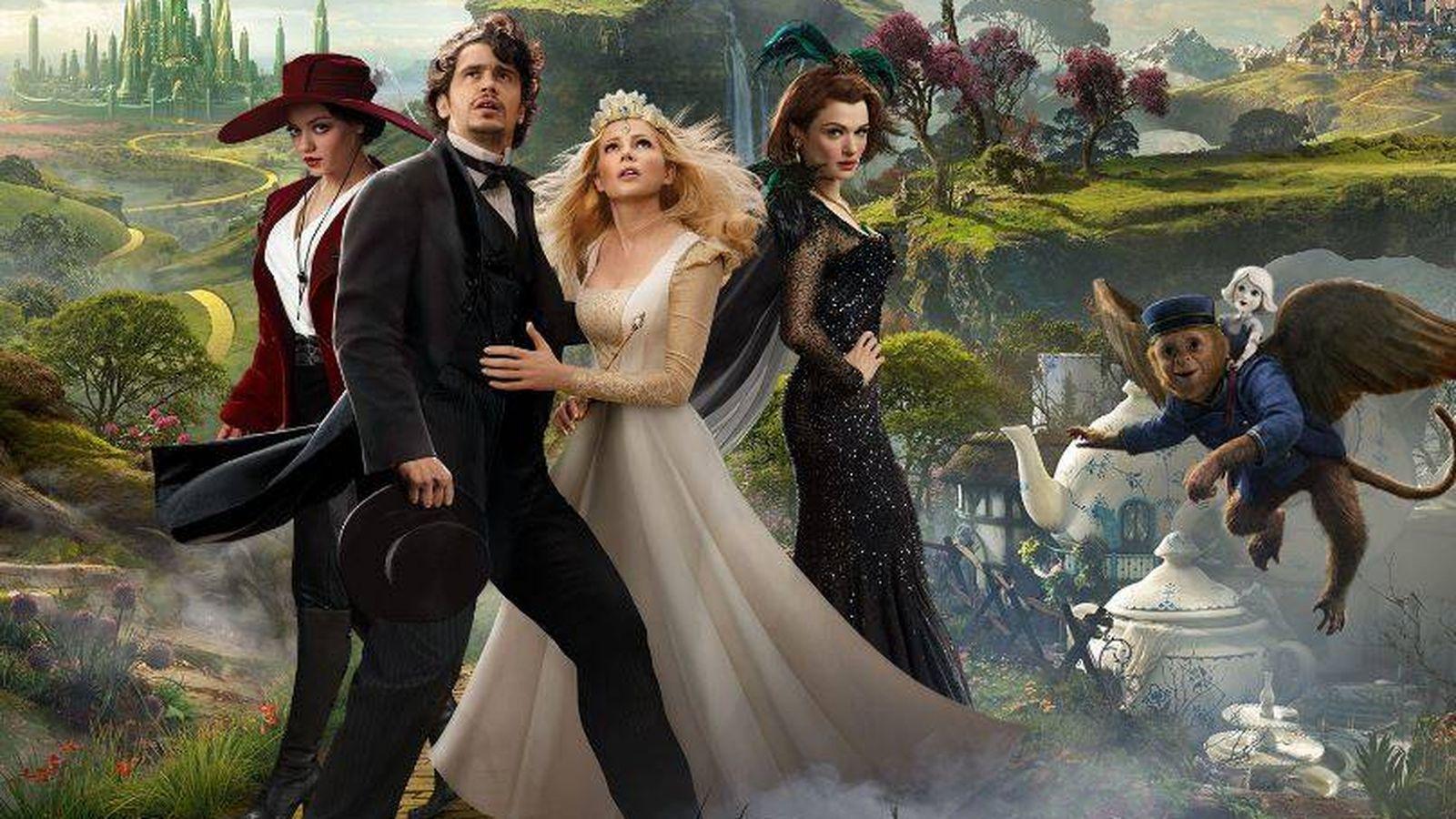 Foto: 'Oz, un mundo de fantasía', una de las películas de un 'Sábado de cuento' en Cuatro.