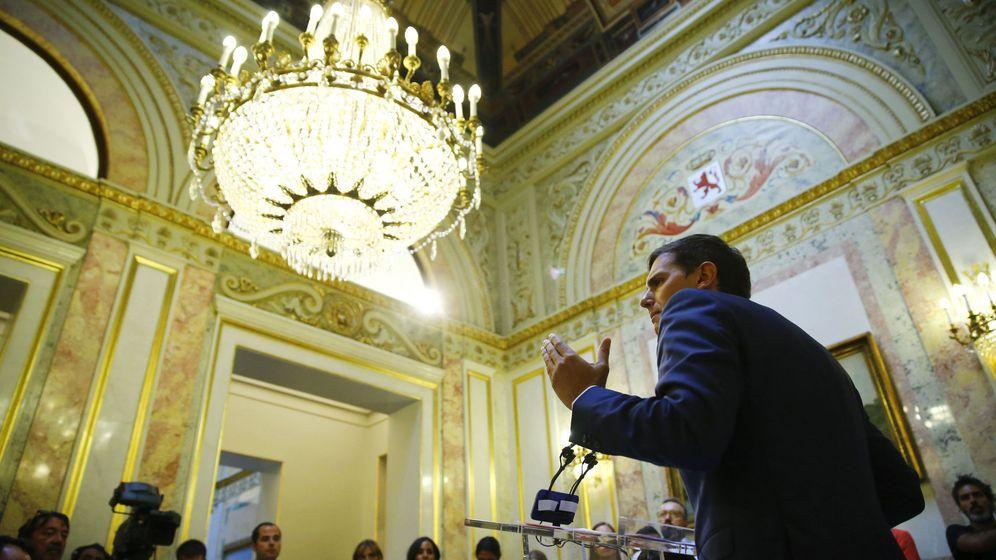 Foto: El presidente de Ciudadanos compareció en el Congreso de los Diputados este martes. (EFE)