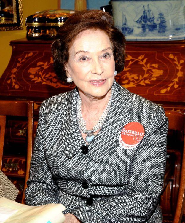 Foto: Carmen Franco en una imagen de archivo. (Gtres)