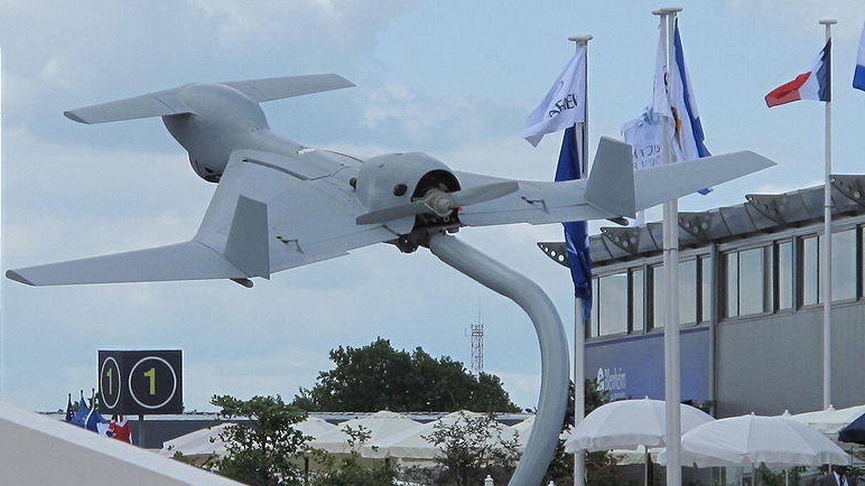 El IAI Harop es un dron kamikaze. (Wikipedia)