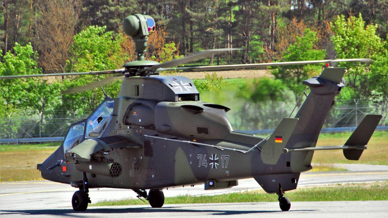 Tigre en versión UHT del Ejército alemán (Foto: US ARMY)