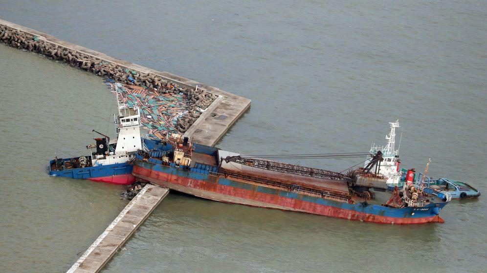 Foto: El tifón Jebi dejó varios muertos en el mes de septiembre (EFE)