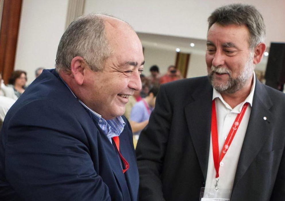 Foto: Manuel Pastrana (i) y Francisco Fernández. (Efe)