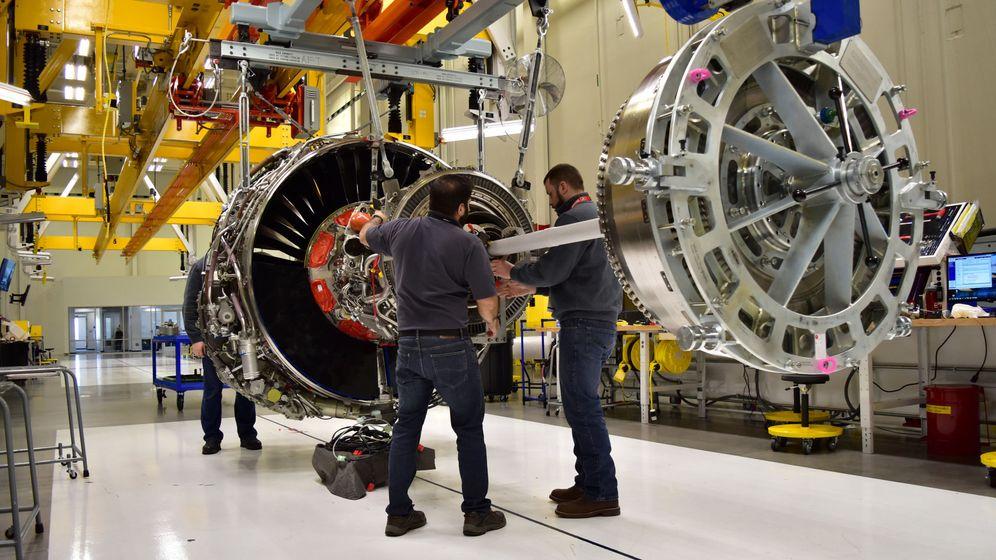 Foto: Fábrica de General Electric. (Reuters)