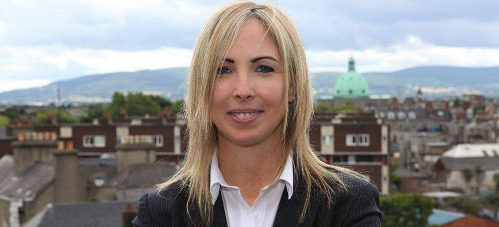 Foto: Helen Dixon, comisaria para la protección de datos en Irlanda. (YouTube)