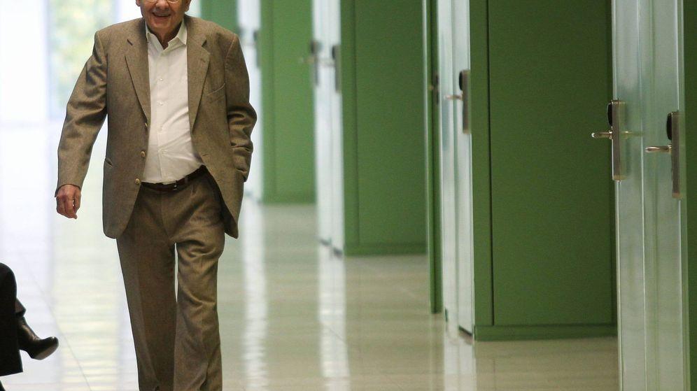 Foto: Fotografía de Félix Millet a su llegada a los juzgados. (EFE)