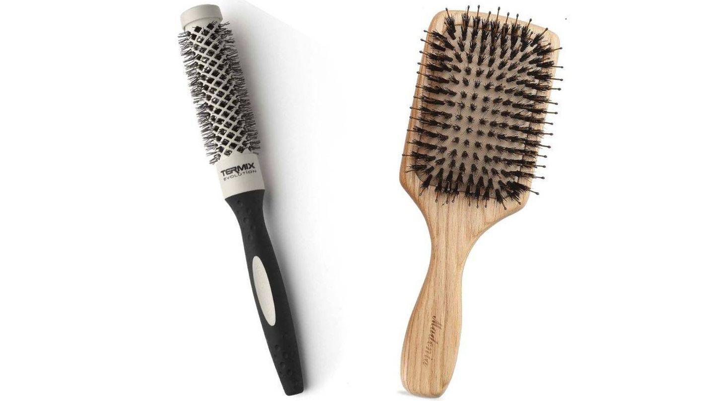 Cepillos para dar forma al flequillo.