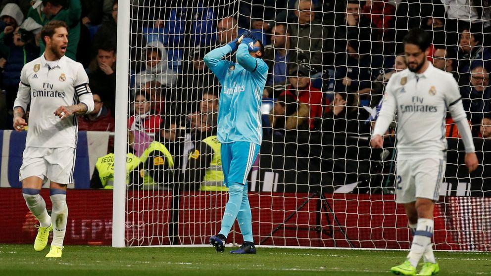 Las dos caras de Keylor Navas que mosquean al Real Madrid