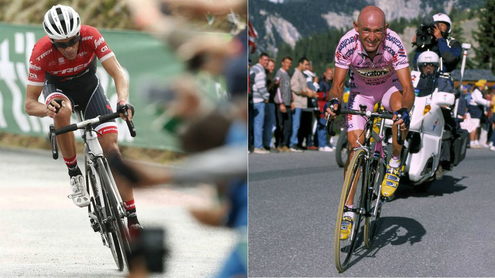Foto: El ciclista y la inspiración.