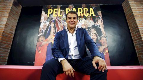 Laporta, a la reconquista del Barça, con la 'guerra' Telefónica-Mediapro de fondo