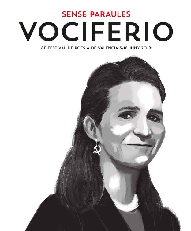 Foto: Cartel del festival Vociferio, que empieza hoy.