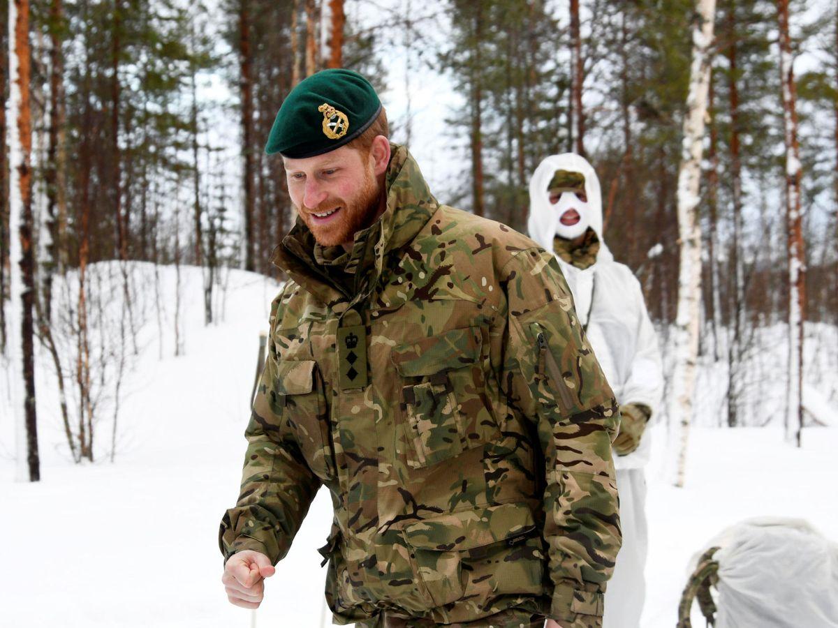 Foto: El príncipe Harry, como capitán general del Cuerpo de Marines Reales. (Reuters)