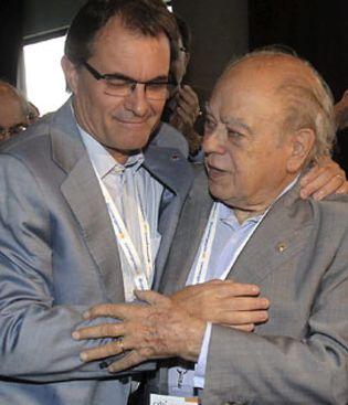 Foto: Un informe policial revela que Mas y Pujol desviaban dinero al extranjero