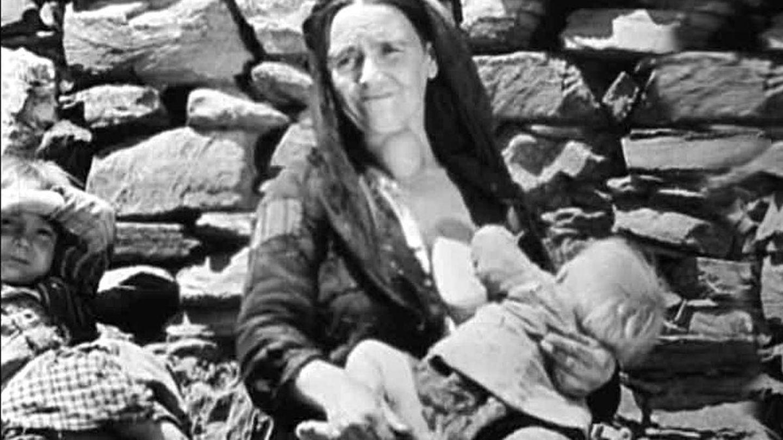 Una imagen de 'Las Hurdes. Tierra sin pan' (1933).