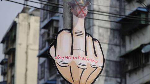 Manifestación en Birmania