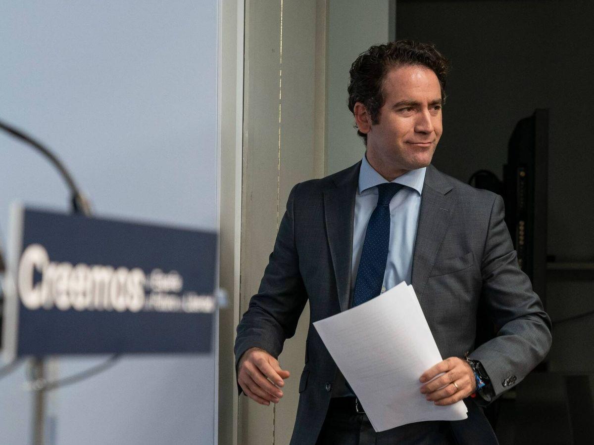 Foto: El secretario general, Teodoro García Egea. (Tarek)