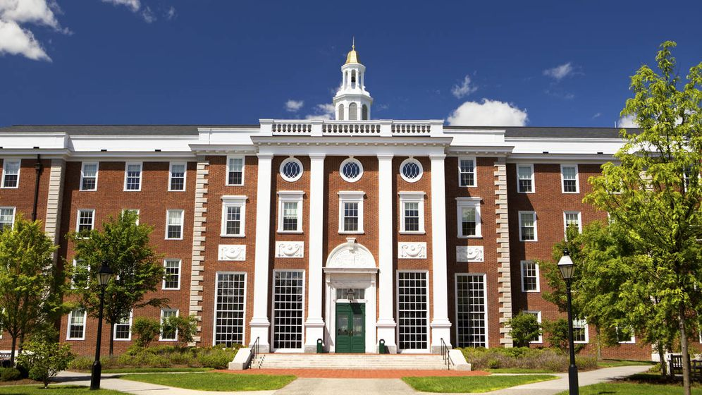 Foto: La Universidad de Harvard figura en el primer puesto del listado.