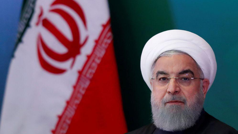 Foto: El presidente iraní Hasan Rohaní, en febrero de 2018. (Reuters)