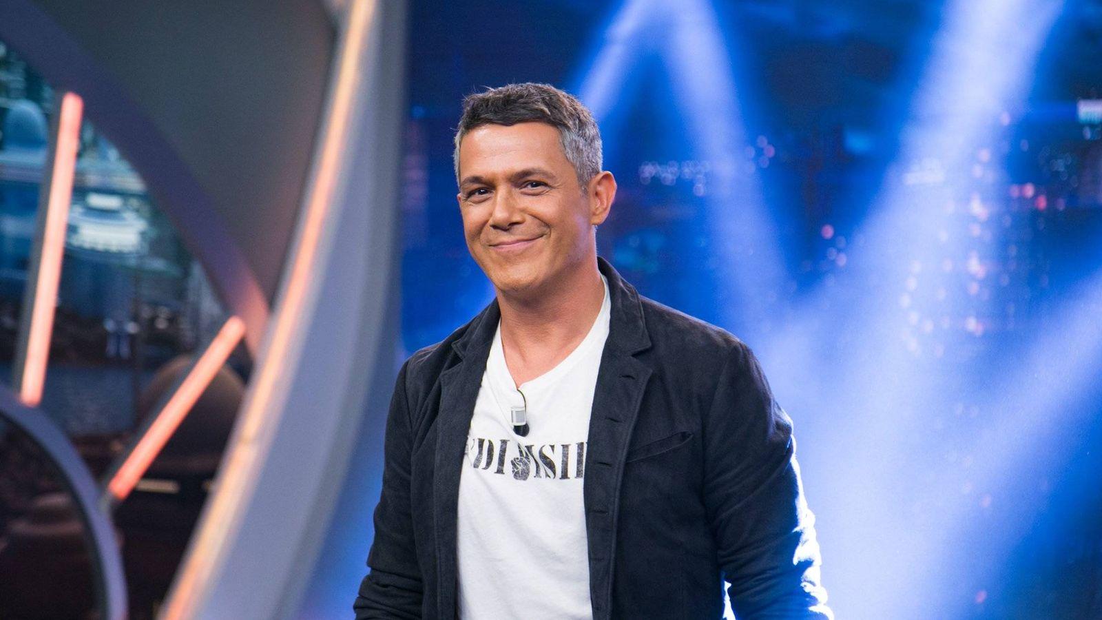 Foto: Alejandro Sanz presenta su single 'No tengo nada' en 'El Hormiguero'. (Antena 3)