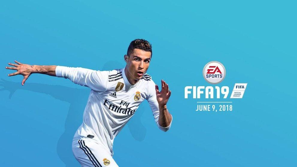 Cristiano Ronaldo viste la camiseta del Real Madrid... en el FIFA 19