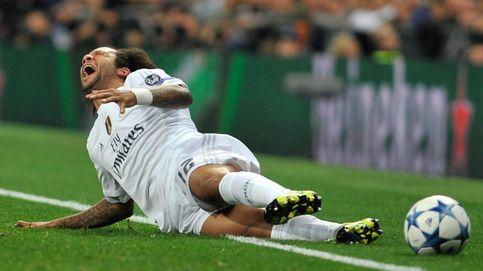 La lesión de Marcelo, que había jugado mucho, señala las rotaciones de Benítez