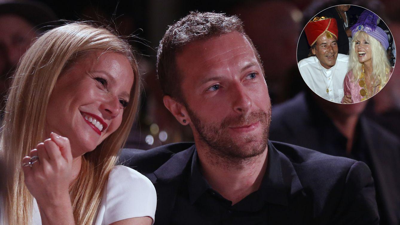 Foto: Gwyneth Paltrow y Chris Martin y arriba, Gunilla Von Bismark y Luis Ortiz (Gtres)