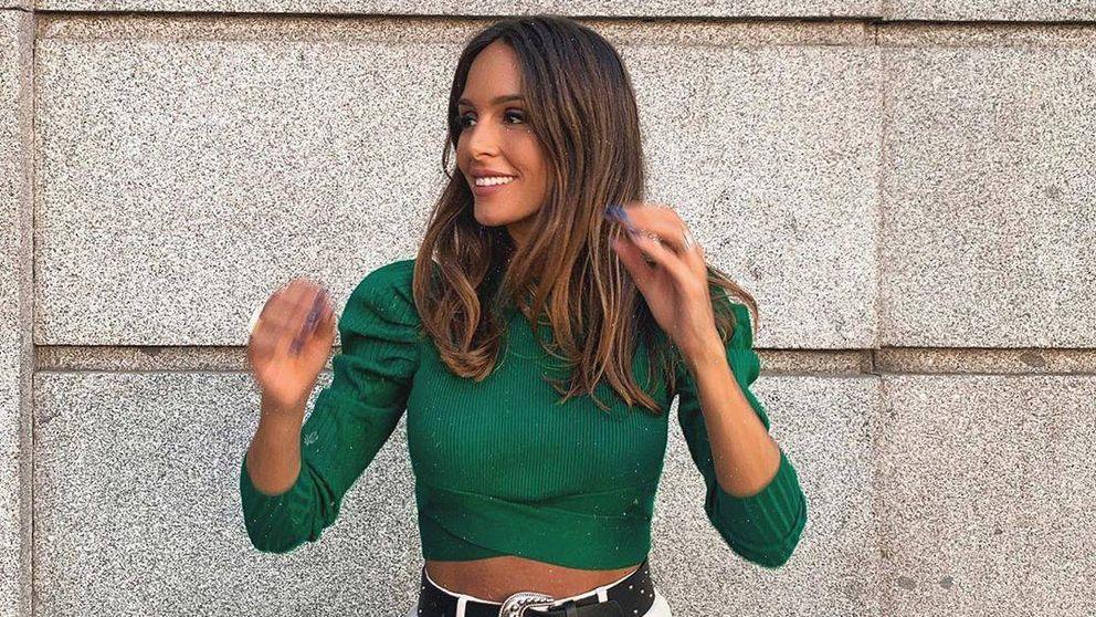 La capa de terciopelo de Zara que luce Rocío Osorno es ideal para tus looks de fiesta