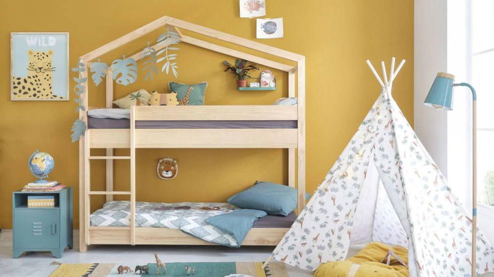 Foto: Decora la habitación de tus hijos con Maisons du Monde y Leroy Merlin. (Cortesía Maisons du Monde)