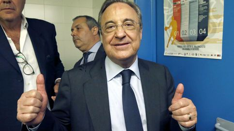 La agradable 'florentina' que el presidente echó en el vestuario tras la última goleada