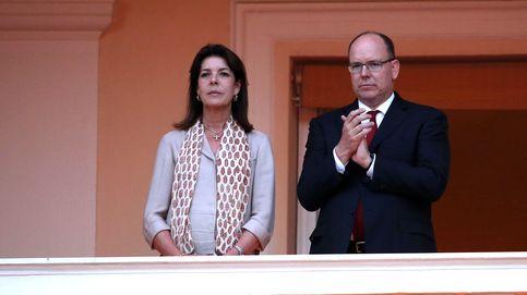 Carolina de Mónaco vuelve a ejercer de primera dama tras una nueva ausencia de Charlène