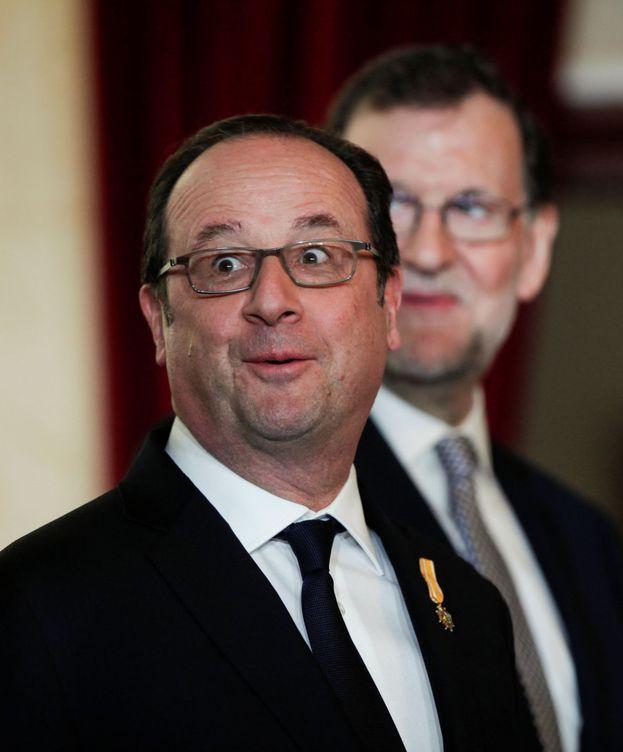 Foto: François Hollande y Mariano Rajoy. (Reuters)