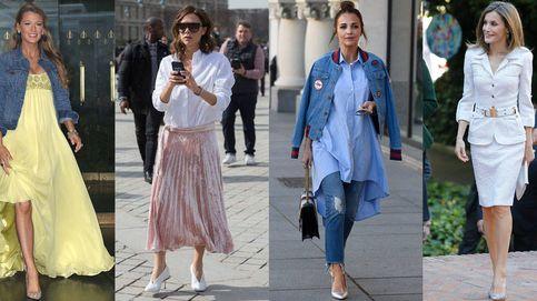 Letizia y Paula Echevarría, madres con mucho estilo en las que inspirarse