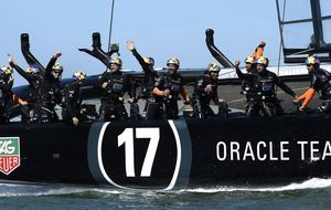 El Oracle culmina su remontada y se lleva la Copa del América de vela