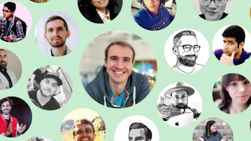 Foto: El círculo de interacciones del desarrollador Simone Masiero, creador de Chirpty