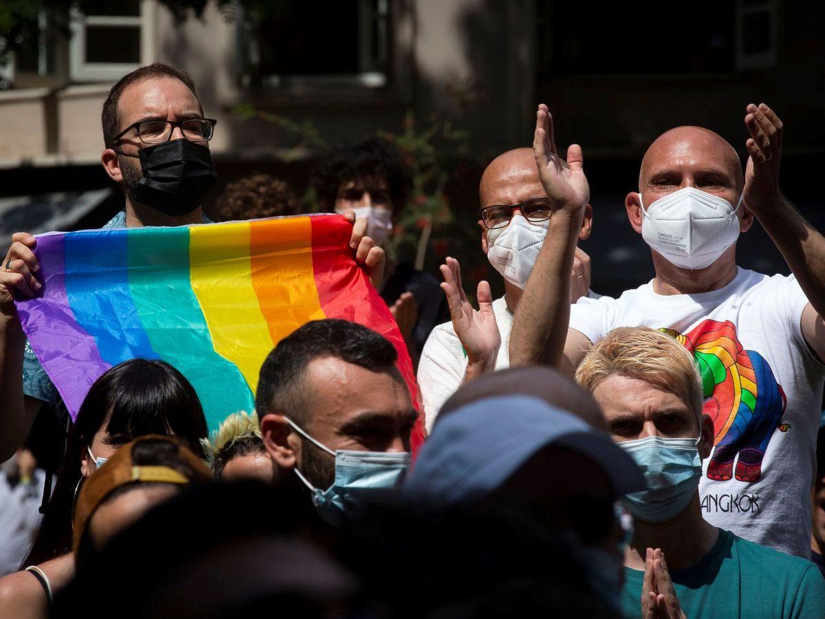 Foto: Concentración contra la homofobia en barcelona del pasado junio. (EFE)