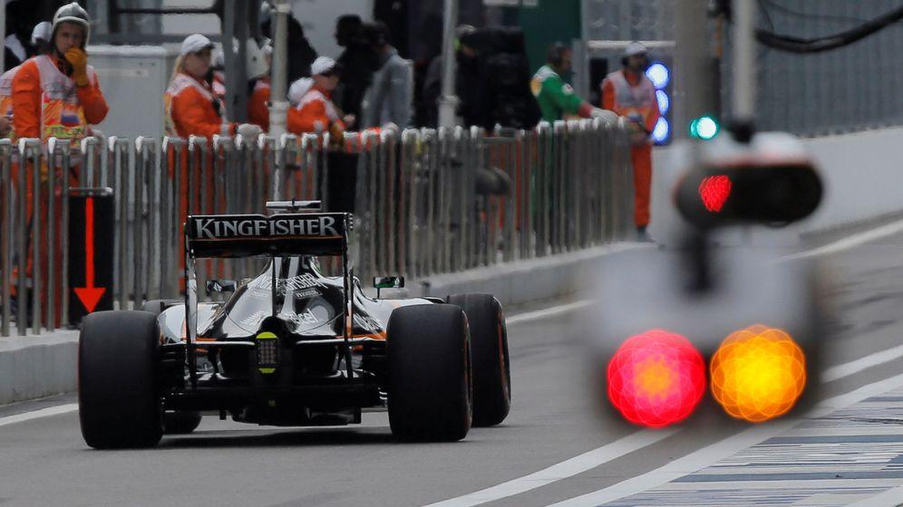Foto: La FIA prevé sanciones incluso cuando el sistema de detección automático no se active. (Reuters)