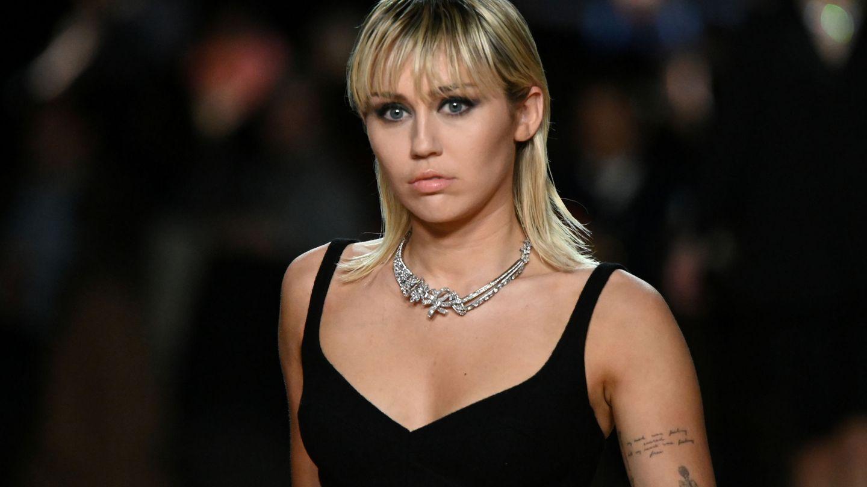 Miley Cyrus, desfilando para Marc Jacobs.  (Reuters)